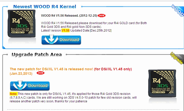 R4i Wood Kernel